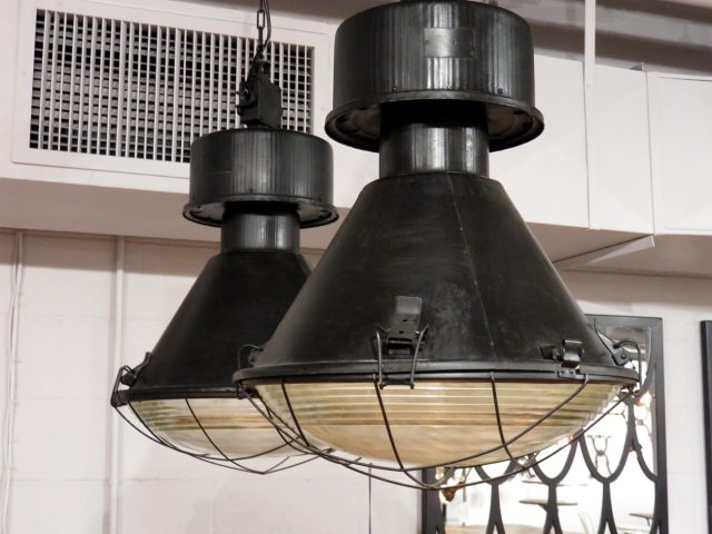 Vintage Industrial Warehouse Pendants