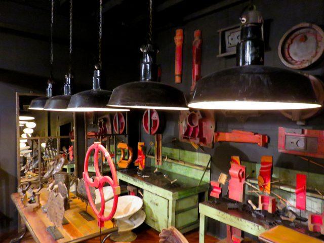 Vintage Metal Warehouse Pendants