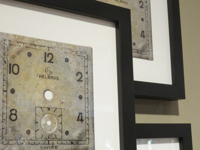Vintage Watch Face Wall Print