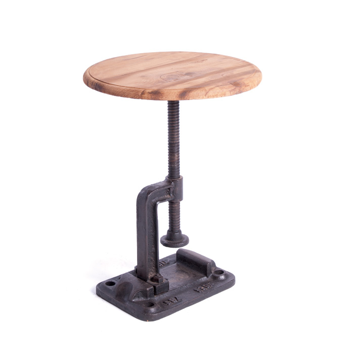 Industrial Clamp Stool