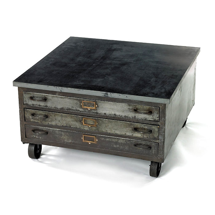 Vintage Cabinet Coffee Table