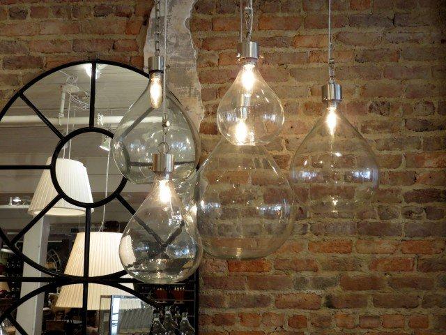 Vintage Glass Bottle Lights