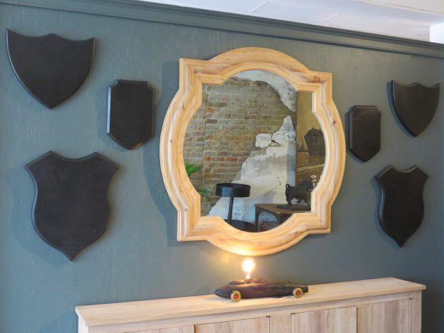 Reclaimed Wood Wall Mirror