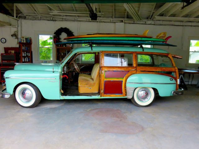 Classic Woodie Station Wagon