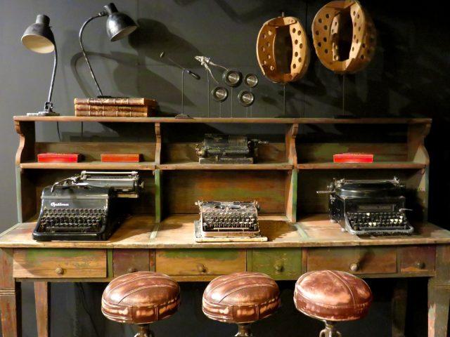 Vintage Wood Work Desk