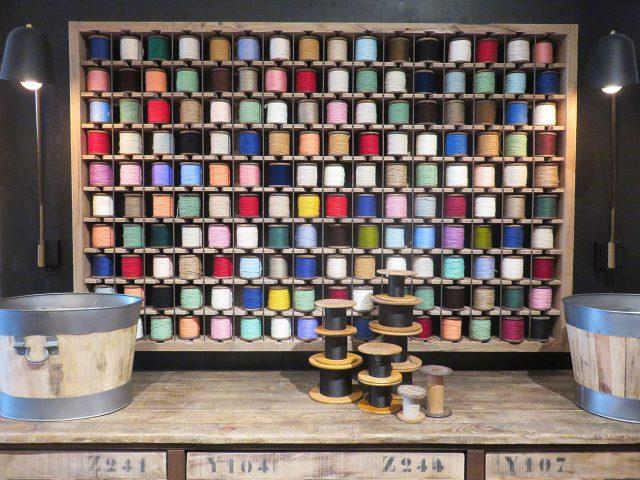 Vintage Yarn Wall Art
