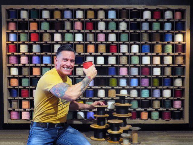 Yarn Wall Art Display